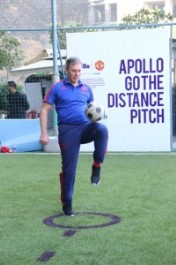 Apollo Tyres Christens India's First 'Go the Distance' Soccer Field